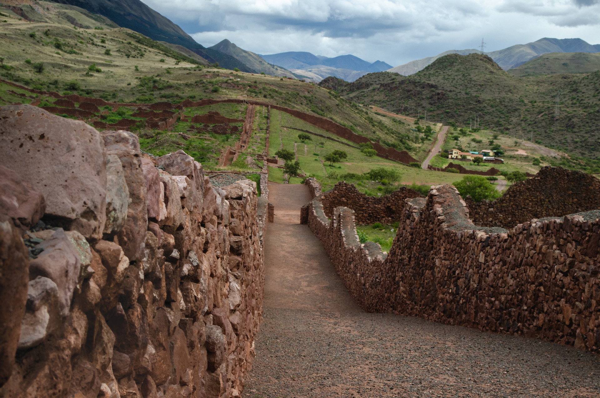 Pikillakta, Cultura Wari, Perú.