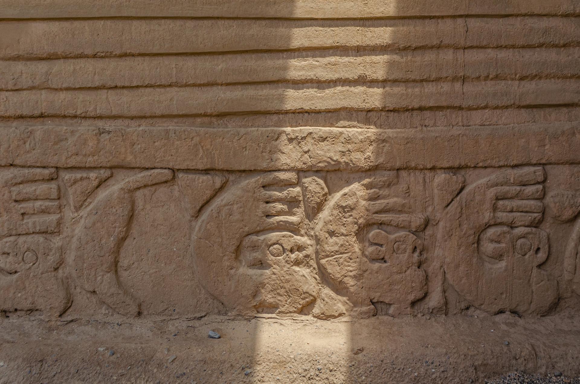 Ciudadelas de adobe de Chan Chan, Cultura Chimú, Perú