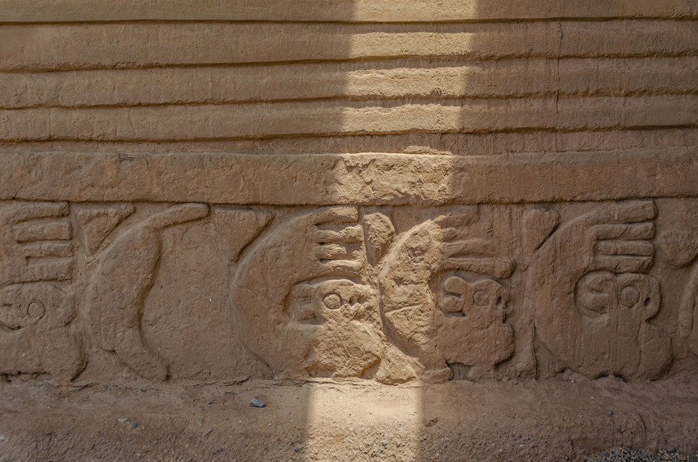 Cultura Chimú. Ciudadelas de adobe de Chan Chan, Perú