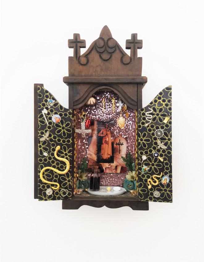 CENSURADA Obra Visual Instalação Série Todes es Santes renomeada #EuNãoSouDespesa