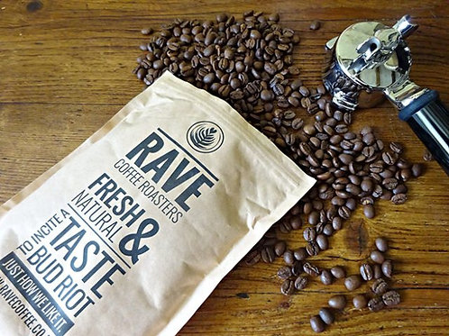 Bean to Cup coffee - Featuring Rave Coffee®
