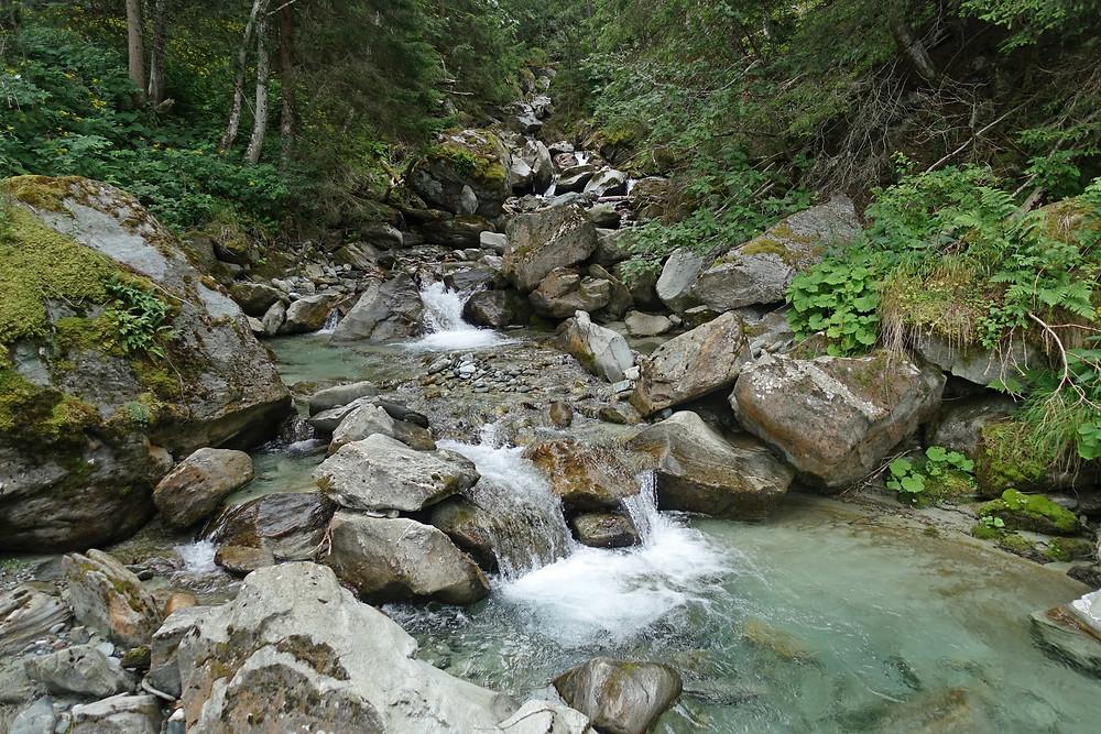 La Turtmänna, la rivière du Turtmanntal