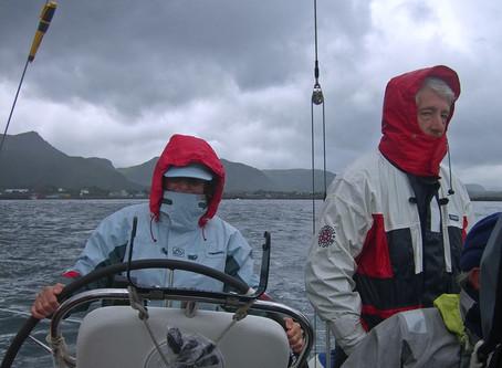 Chez les Vikings ~ À la voile de Ballstad à Bodø
