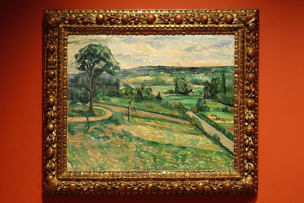 L'Arbre au tournant (1881 - 1882] Huile sur toile 60 x 73 cm