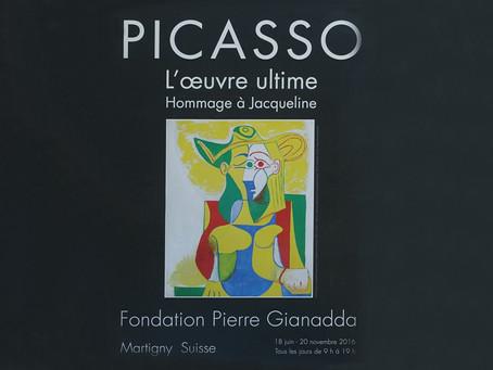 Pablo Picasso ~ L'Œuvre ultime à la Fondation Gianadda