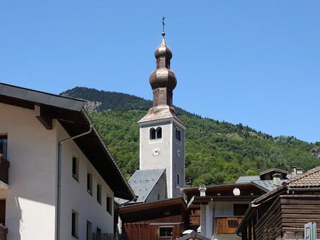 Sur les chemins du Baroque ~ En Tarentaise l'église Saint François de Sales de Bozel