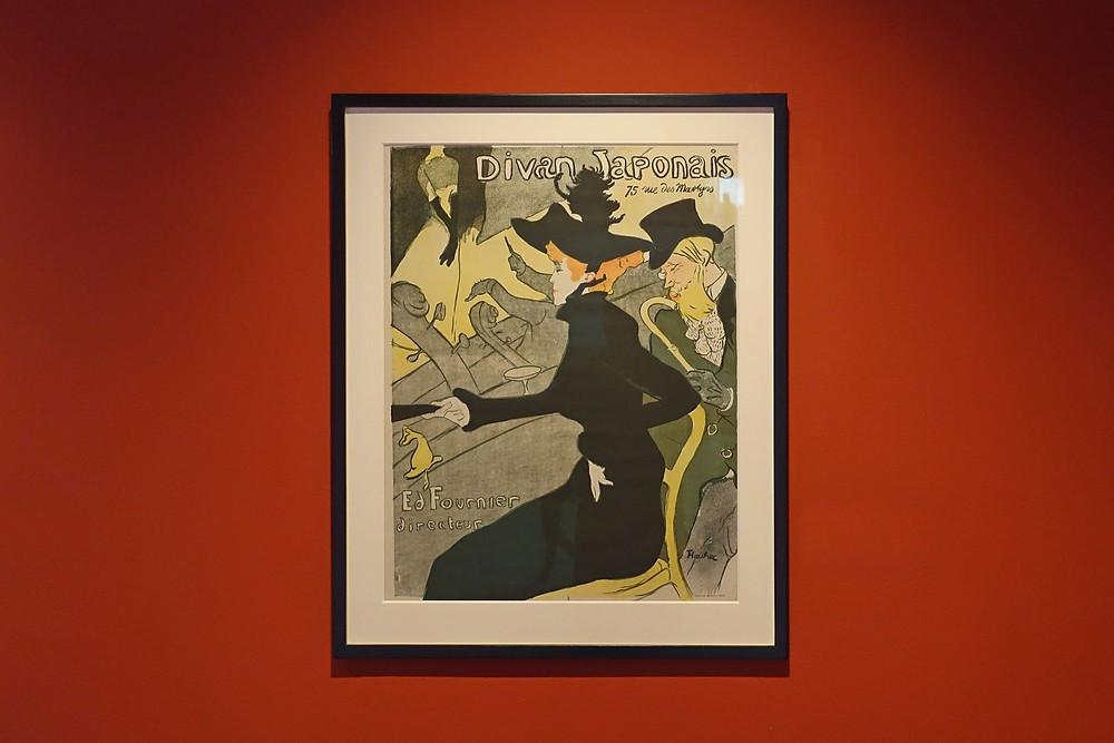 Le Divan Japonais, 1892-1893 Affiche, lithographie en quatre couleurs sur vélin, 80,8 x 60,8 cm
