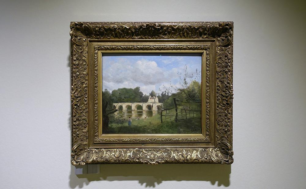 Camille Corot - Le pont de Mantes