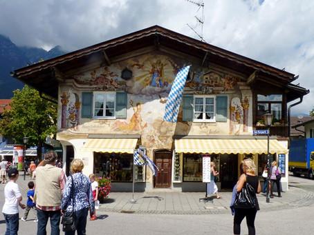 Sur la Deutsche Alpenstraße ~ Oberammergau