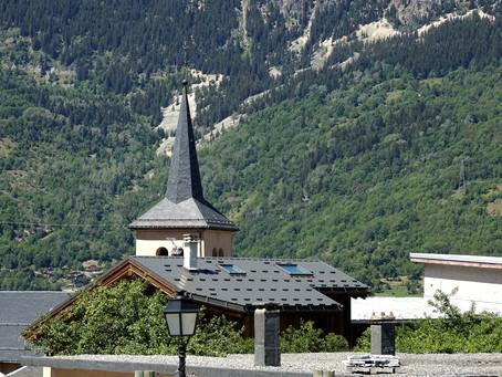 Sur les chemins du Baroque ~ En Tarentaise l'église Saint Bon à Courchevel-Saint Bon