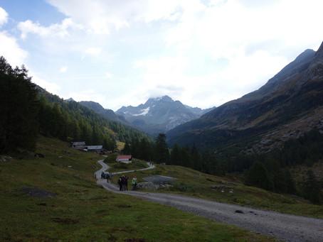 Du Binntal à la Valle Antigorio via l'Albrunpass