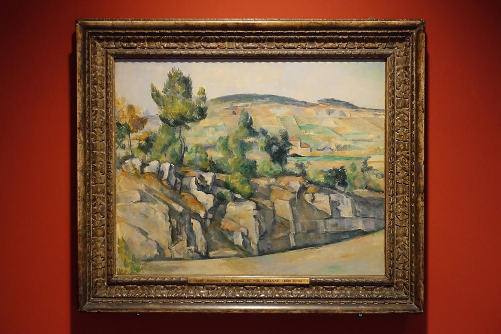 La Route en Provence (1890 - 1892) Huile sur toile 65 x 81 cm