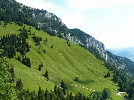 Sur la Deutsche Alpenstraße ~ Balade au Wendelstein