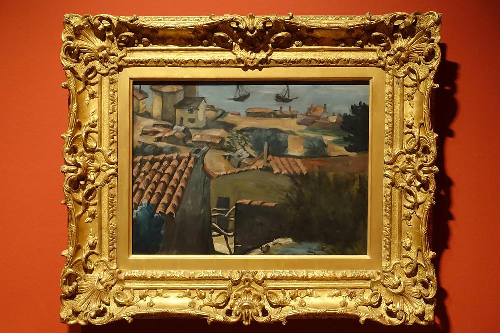 Le Village de pêcheurs à L'Estaque (1867 - 1869) (1870) Huile sur toile 42 x 55 cm
