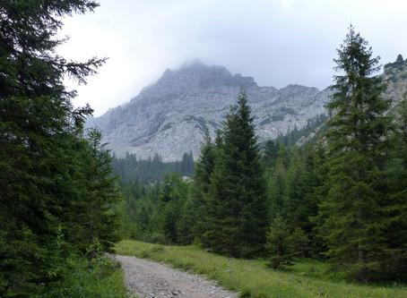 Sur la Deutsche Alpenstraße ~ Randonnée au Wörnersattel