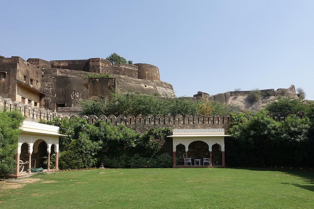 Forteresse près du Shahpura House à Jaipur