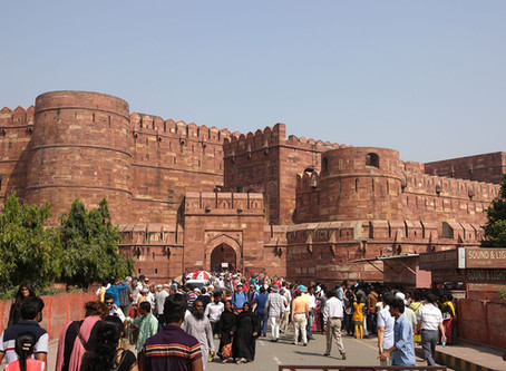 Agra ~ Le Fort Rouge