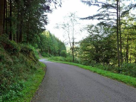 Chemin d'Assise d'Anost à Saint Léger sous Beuvray