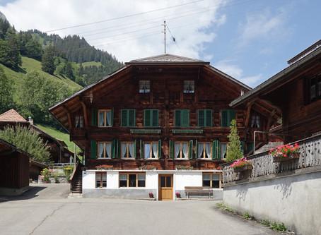Jaun, un petit village fribourgeois