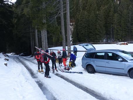 Ski patagon au Passo Palombino
