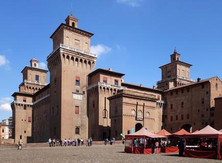 Ferrara, le circuit « Où coulait le Pó »