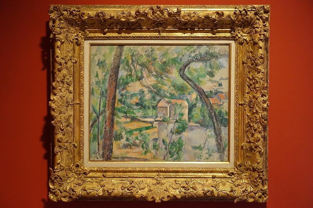 L'Arbre tordu (1888 - 1890] Huile sur toile 46 x 55 cm