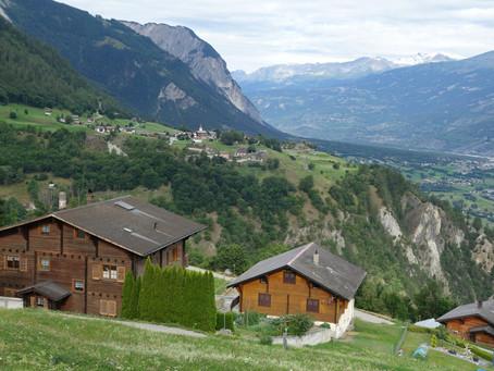 Ergisch dans le Haut Valais