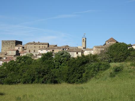 Dans les Baronnies provençales, le Serre du Suquet