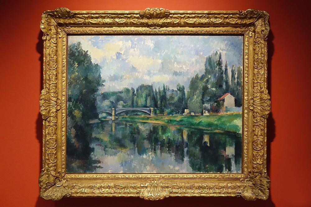Les Bords de la Marne (vers 1894) Huile sur toile 71 x 90 cm