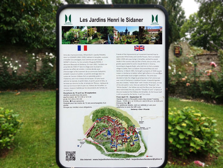 Les jardins d'Henri Le Sidaner à Gerberoy