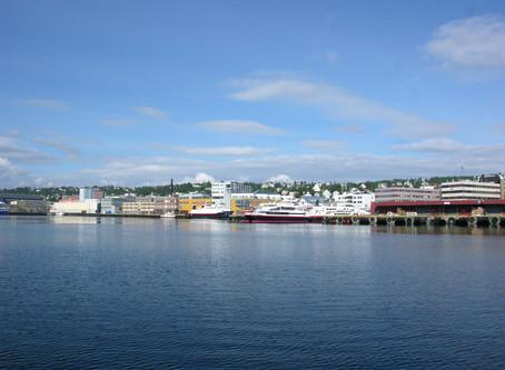 Chez les Vikings à la voile de Tromsø au Lysbotnfjorden