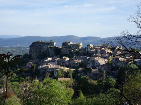Saignon, petit village perché