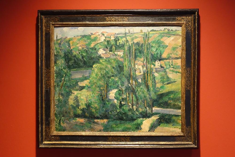 La Côte des Jalais à Pontoise (1879 - 1881) Huile sur toile 60 x 73 cm