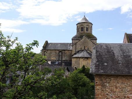 L'église abbatiale d'Aubazine