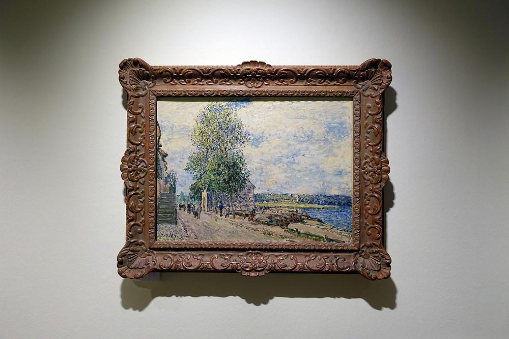 Alfred Sisley - Saint Mammès et les coteaux de Veneux-Nadon, matin de septembre