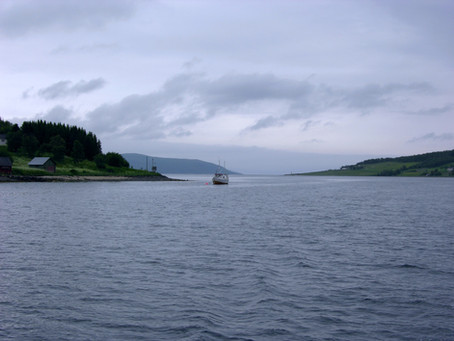 Chez les Vikings ~ À la voile du Lysbotnfjorden à Halm Holmen