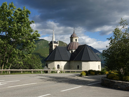 Sur les chemins du Baroque ~ En Tarentaise le chapelle N.D. de la Vie à St-Martin-de-Belleville