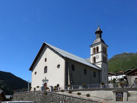 Sur les chemins du Baroque ~ En Tarentaise l'église Saint Jean-Baptiste à Saint Jean de Belleville