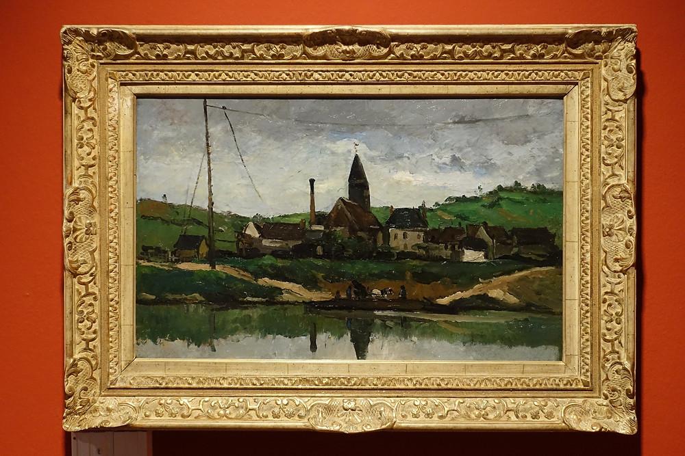 Aqueduc du canal du Verdon au nord d'Aix (1882 - 1883) Huile sur toile 57 x 72 cm