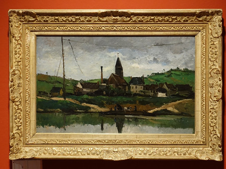 Paul Cézanne ~ Le Chant de la terre à la Fondation Gianadda