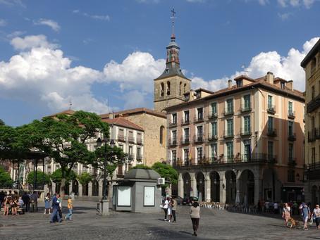 Sur le Camino de Madrid ~ Segovia