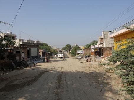 Un train indien au Rajasthan