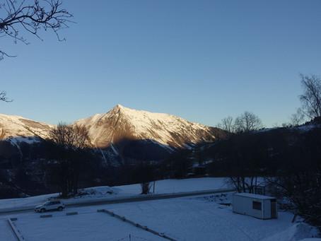En skis de rando au Roc Verdet