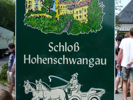 Sur la Deutsche Alpenstraße ~ Le schloß de Neuschwanstein