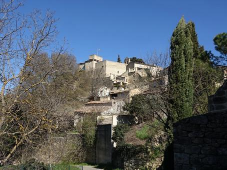 Ansouis, le village de Manon