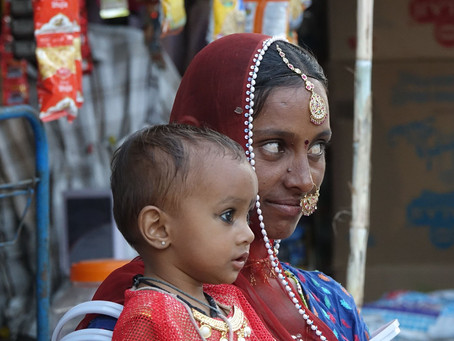 Hommes et Femmes du Rajasthan ~ Portraits