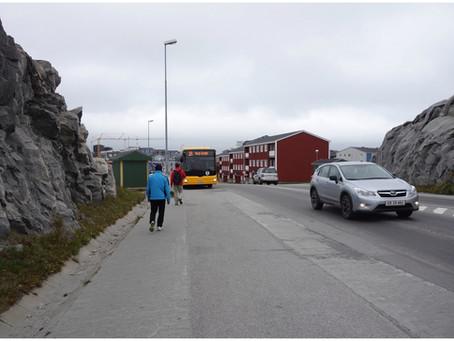 Nuuk et sac à terre