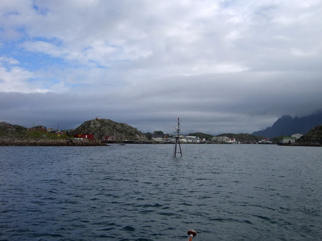 Chez les Vikings ~ À la voile de Skrova à Kabelvåg