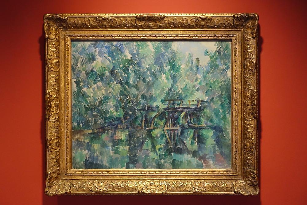 Le Pont de l'Île Machefer à Saint-Maur-des-Fossés (1895 - 1898) Huile sur toile 64 x 79 cm