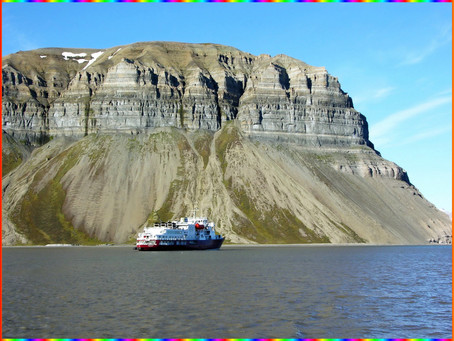 Svalbard #10 Mouillage à Skansbukta